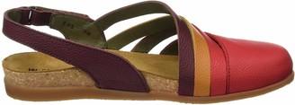 El Naturalista Women's NF45 Soft Grain Grosella Mixed/Zumaia Flat Sandal 40 Medium EU (9 US)