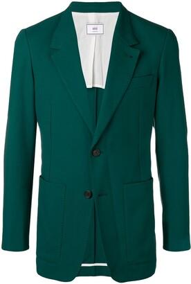 Ami Paris Two Buttons Long Fit Jacket