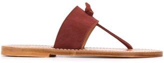 K. Jacques Open Toe Sandals