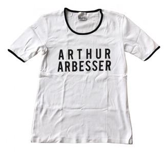 ARTHUR ARBESSER White Cotton Tops
