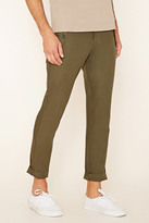 Forever 21 FOREVER 21+ Slim Fit Cotton Pants