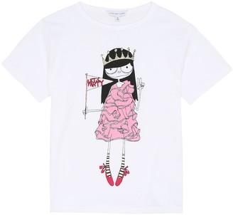 Little Marc Jacobs Miss Marc cotton T-shirt