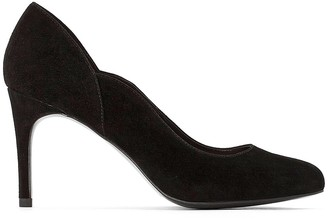 La Redoute Collections Suede Stiletto High Heels