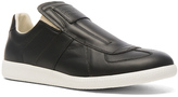 Maison Margiela Calfskin Replica Slip On Leather Sneakers