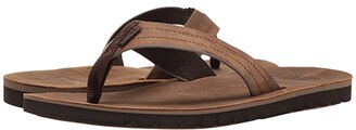 Reef Voyage LE (Dark Brown) Men's Sandals