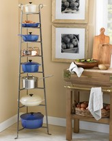 Enclume 8-Tier Cookware Stand, Hammered Steel