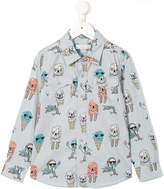 Stella McCartney ice cream print shirt