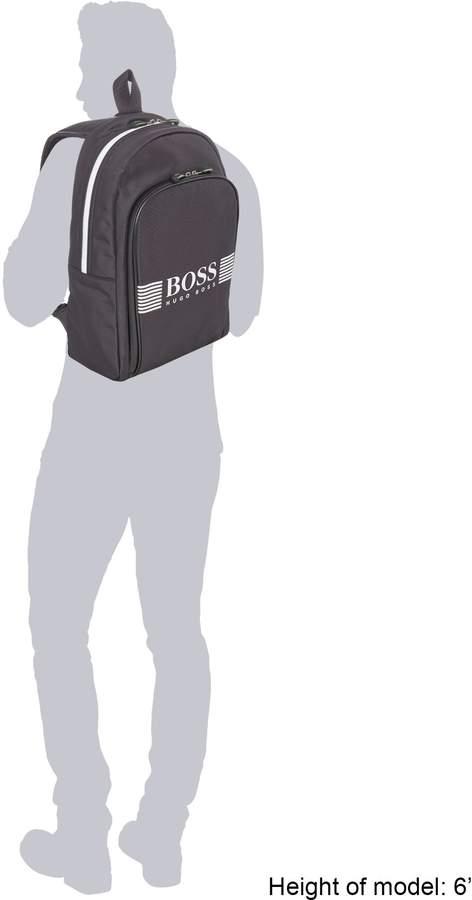 HUGO BOSS Pixel Logo Backpack