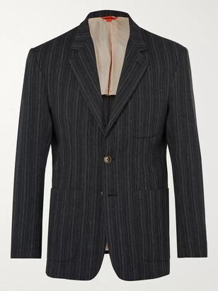 Barena Unstructured Striped Woven Blazer
