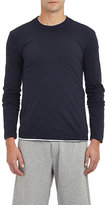 James Perse Men's Jersey Long Sleeve T-shirt-NAVY