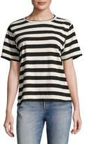 Amo Striped Tomboy Shirt