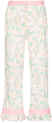 Helmstedt Strawberry Print Pajama Trousers