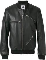 Les Hommes multi-zip jacket