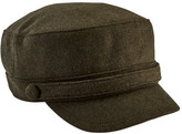 San Diego Hat Company Women's Cadet Cap with Self Button CTH8096