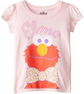 Freeze Little Girls' Elmo with Bowtie Toddler Girl Short Sleeve Tee