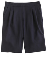 J.Crew Collection wool crepe short
