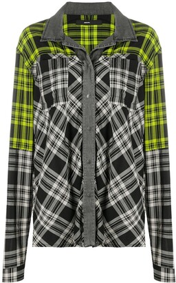 Diesel Check Long-Sleeve Shirt