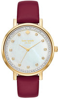 Kate Spade Pave monterey watch