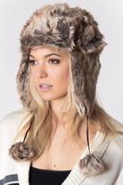 Caren Forbes Faux Fur Trapper Hat