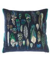 Christian Lacroix Quill Cobalt Cushion Pillow