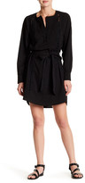 Adelyn Rae Tie-Waist Shirtdress