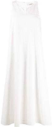 Odeeh Geometric Pattern Flared Dress