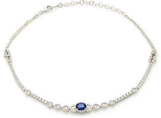 YEPREM 18K White Gold Reign Supreme Necklace