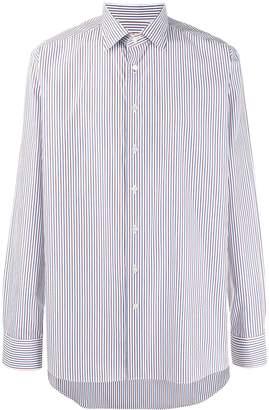 Etro striped long sleeve shirt