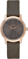 Nixon Kenzi a398-2214 stainless steel and leather watch