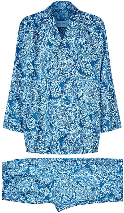Daniel Hanson Silk Pyjama Set