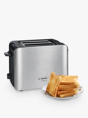 Bosch ComfortLine Compact Toaster, Metallic Grey
