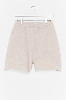 Nasty Gal Womens Pit Stop Relaxed Jogger Shorts - Grey - 8