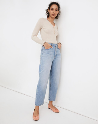 Madewell Tall Balloon Jeans in Hewes Wash