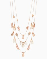 Charming charlie Crystal City Station Necklace