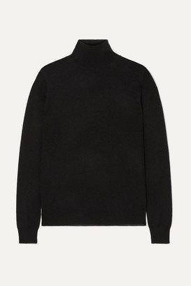 Joseph Cashmere Turtleneck Sweater - Black