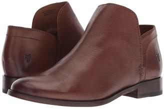 Frye Elyssa Shootie (Cognac Waxed Goat) Women's Pull-on Boots