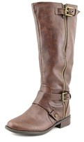 G by Guess Hertle 2 Wide Calf Round Toe Synthetic Knee High Boot.