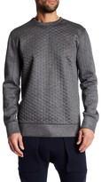 Helmut Lang Oversized Combo Crew Neck Sweater