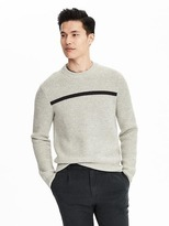 Banana Republic Heritage Honeycomb High Crew
