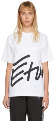 Études White Wonder Sign T-Shirt