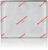 Balenciaga Men's Logo Slim Square Wallet