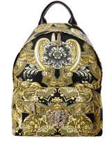 Versace Barocco Istante Nylon Medusa Backpack