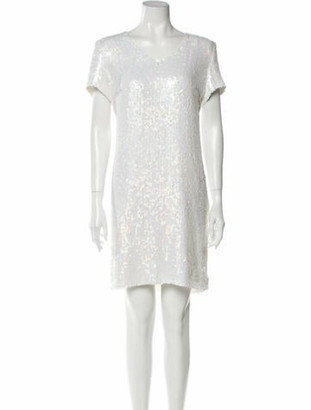 Chanel 2018 Mini Dress White