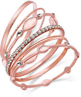 INC International Concepts I.N.C. 6-Pc. Crystal Bangle Bracelet Set, Created for Macy's