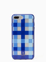Kate Spade Pacific gingham iphone 7 plus case