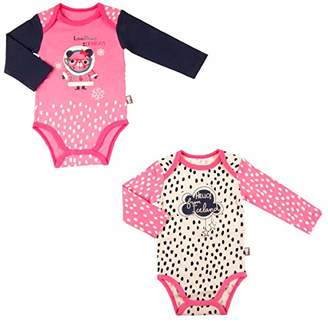 Camilla And Marc Bodies Pack of 2 Baby Girl's Long-Sleeved Loveliness - Size 6 Months (68 cm)