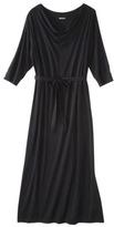Merona Women's Plus-Size 3/4-Sleeve Maxi Dress - Black