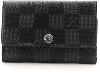 Louis Vuitton 6 Key Holder Damier Graphite