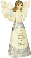 Element Beloved Grandmother Angel Figurine by Pavilion, 5-Inch, Holding Dove, Inscription in Memory of a Beloved Grandmother