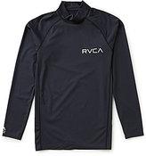 RVCA Long-Sleeve Solid Rashgaurd Surf Top